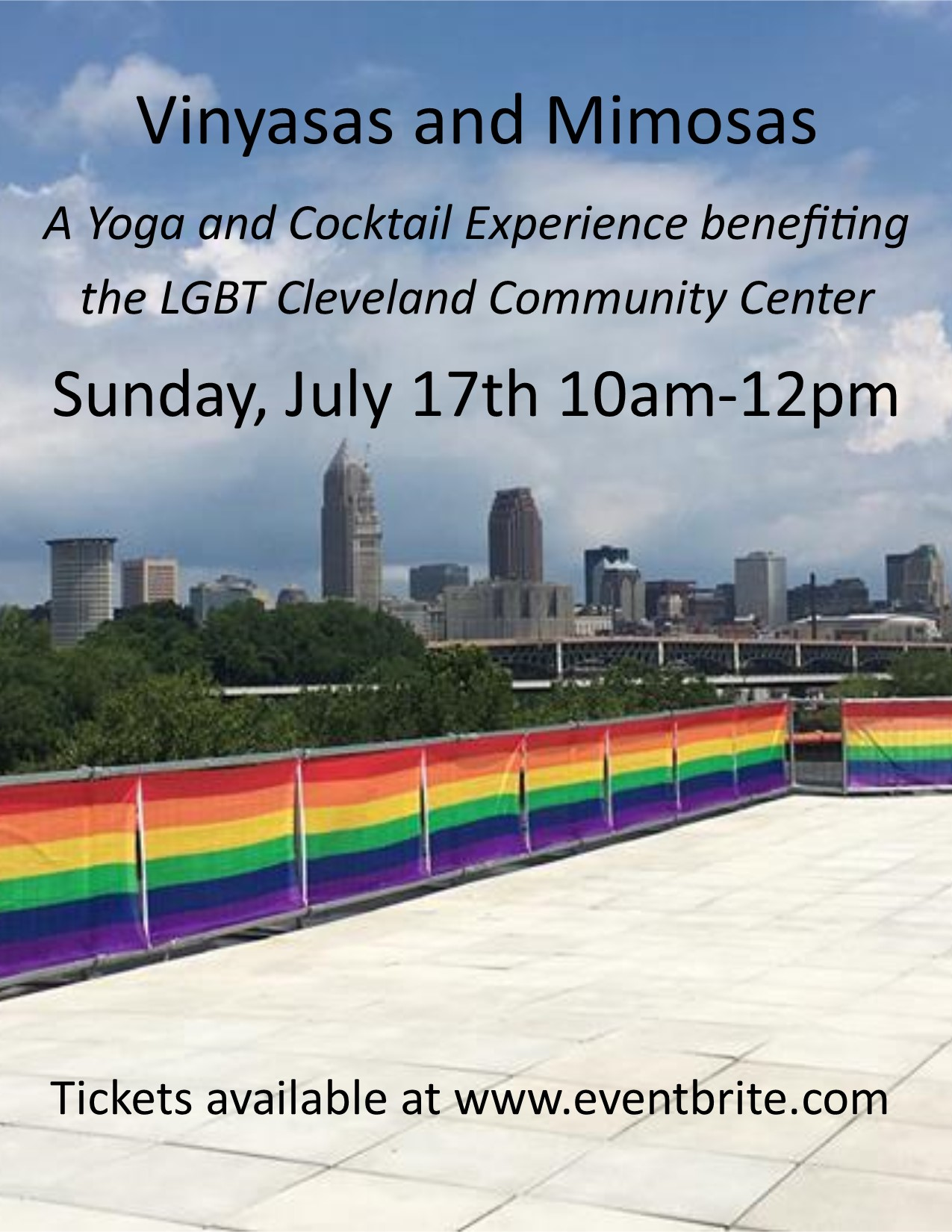 Flyer_LGBT Rooftop Yoga Event ToT